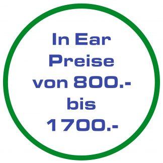 A-Hörerpreise CHF 800 - CHF 1700